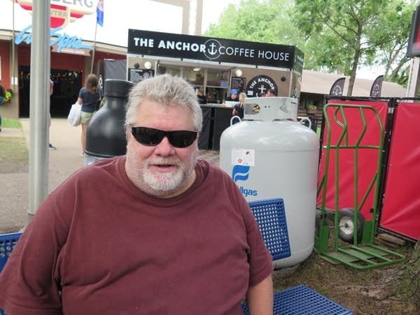 People attending the Minnesota State Fair