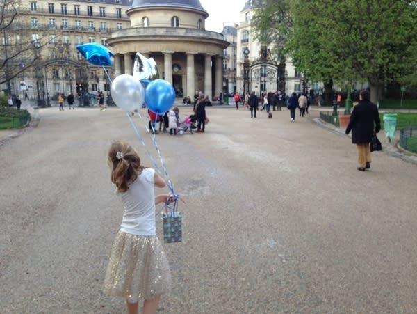 A child in Paris