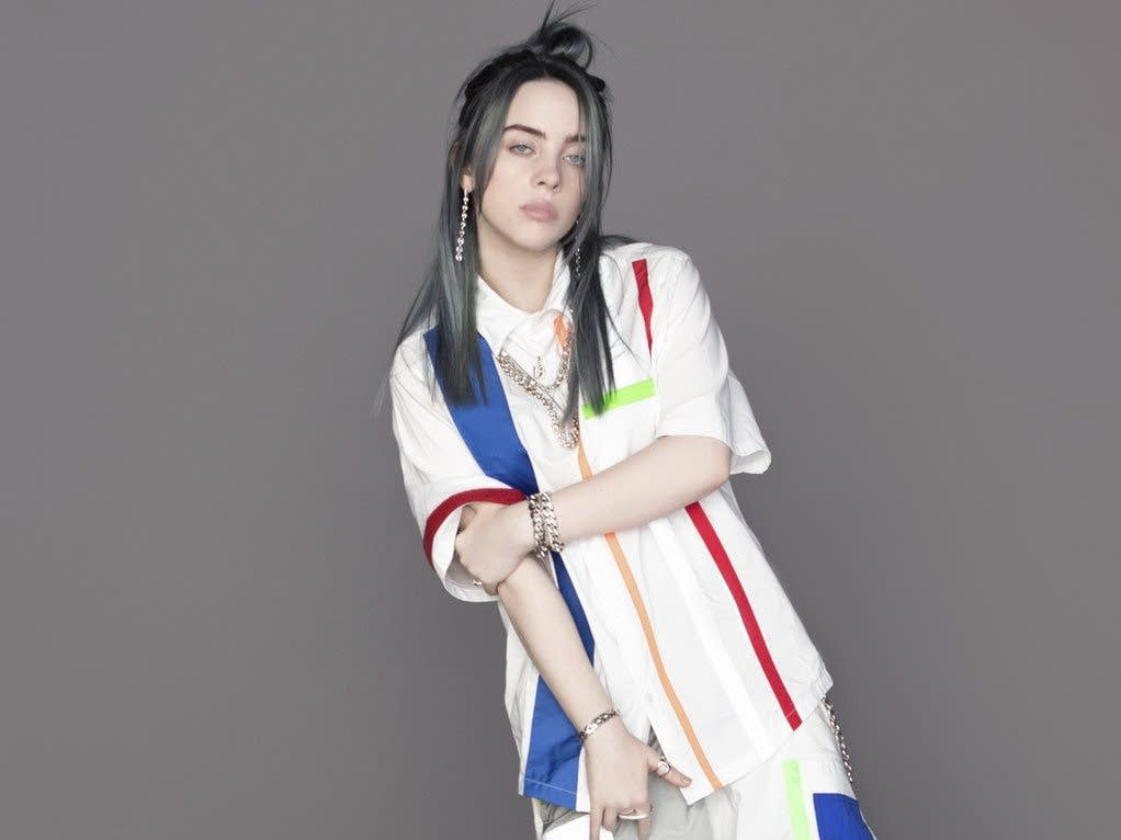 Billie Eilish press photo