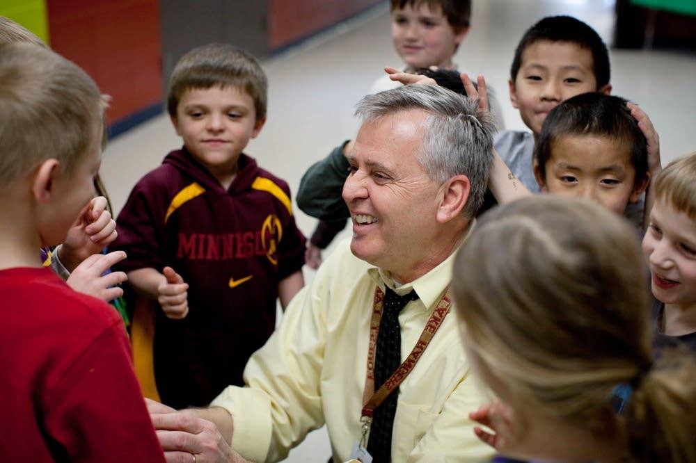 Principal Ron Burris