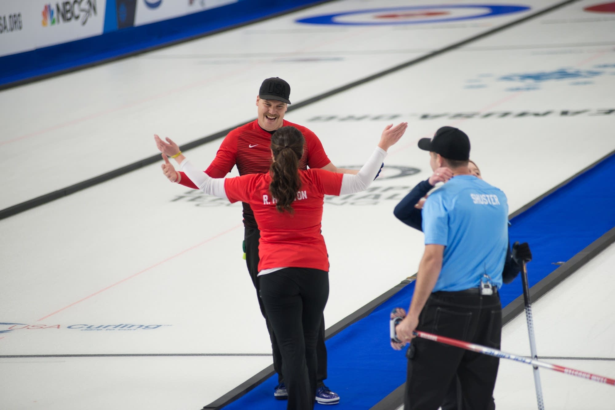 Becca and Matt Hamilton cap off a dominant year in curling with a 6-5 win.