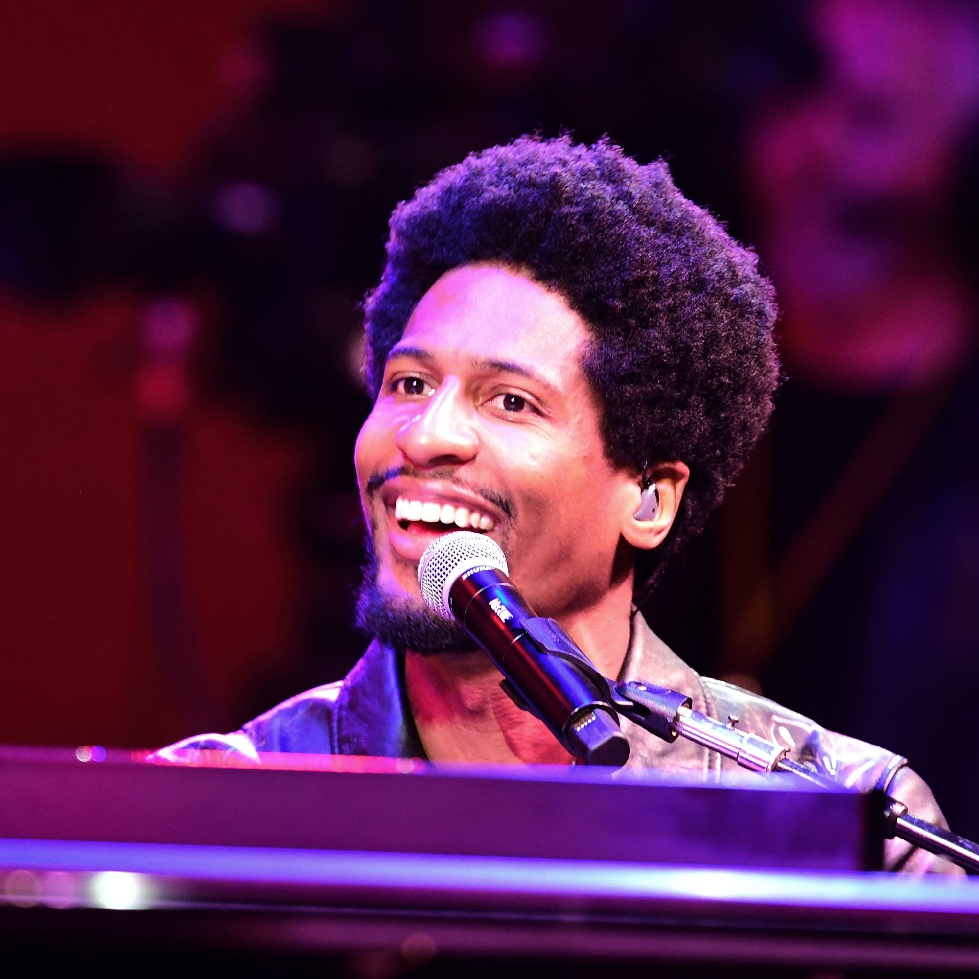 Jon Batiste performs with The Dap-Kings at the Monterey Jazz Festival