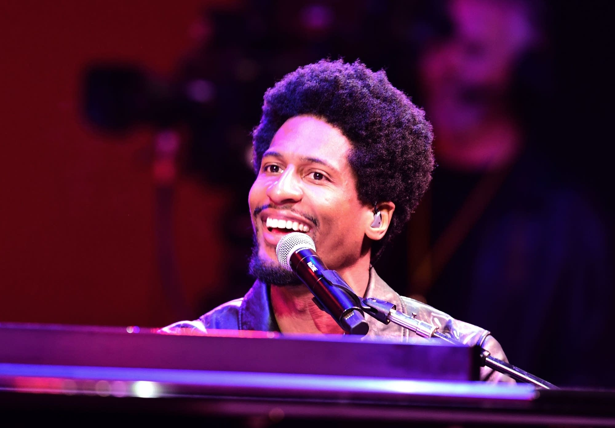 In the moment, you just fly': Jon Batiste lets loose at the