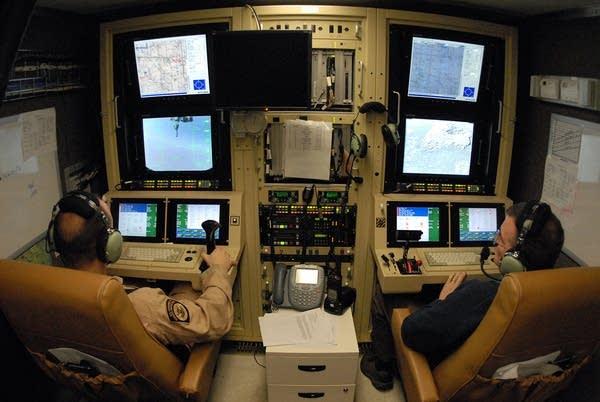 Predator pilot Jonathon Johnson
