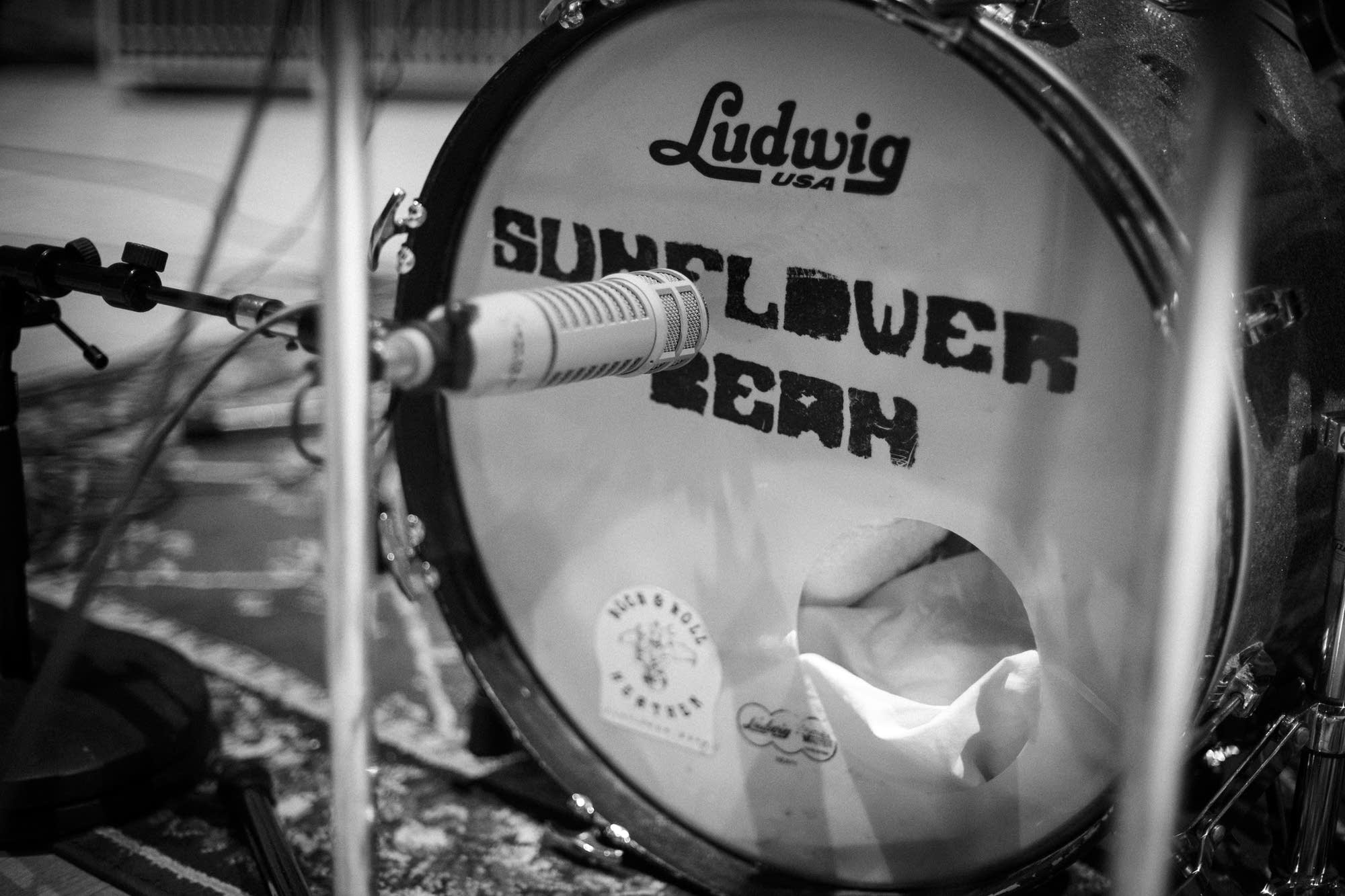 Sunflower Bean's drums at The Current
