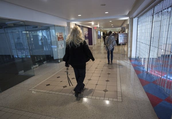 There are numerous empty storefronts in Mpls. skyways.