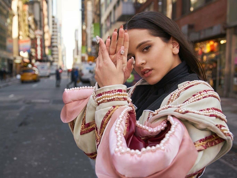 Spanish singer-songwriter Rosalia