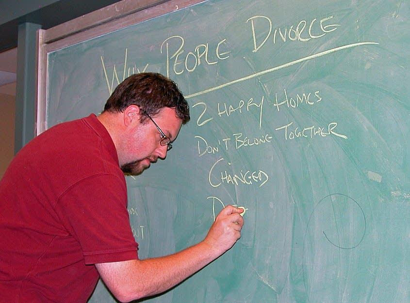 Divorce teacher