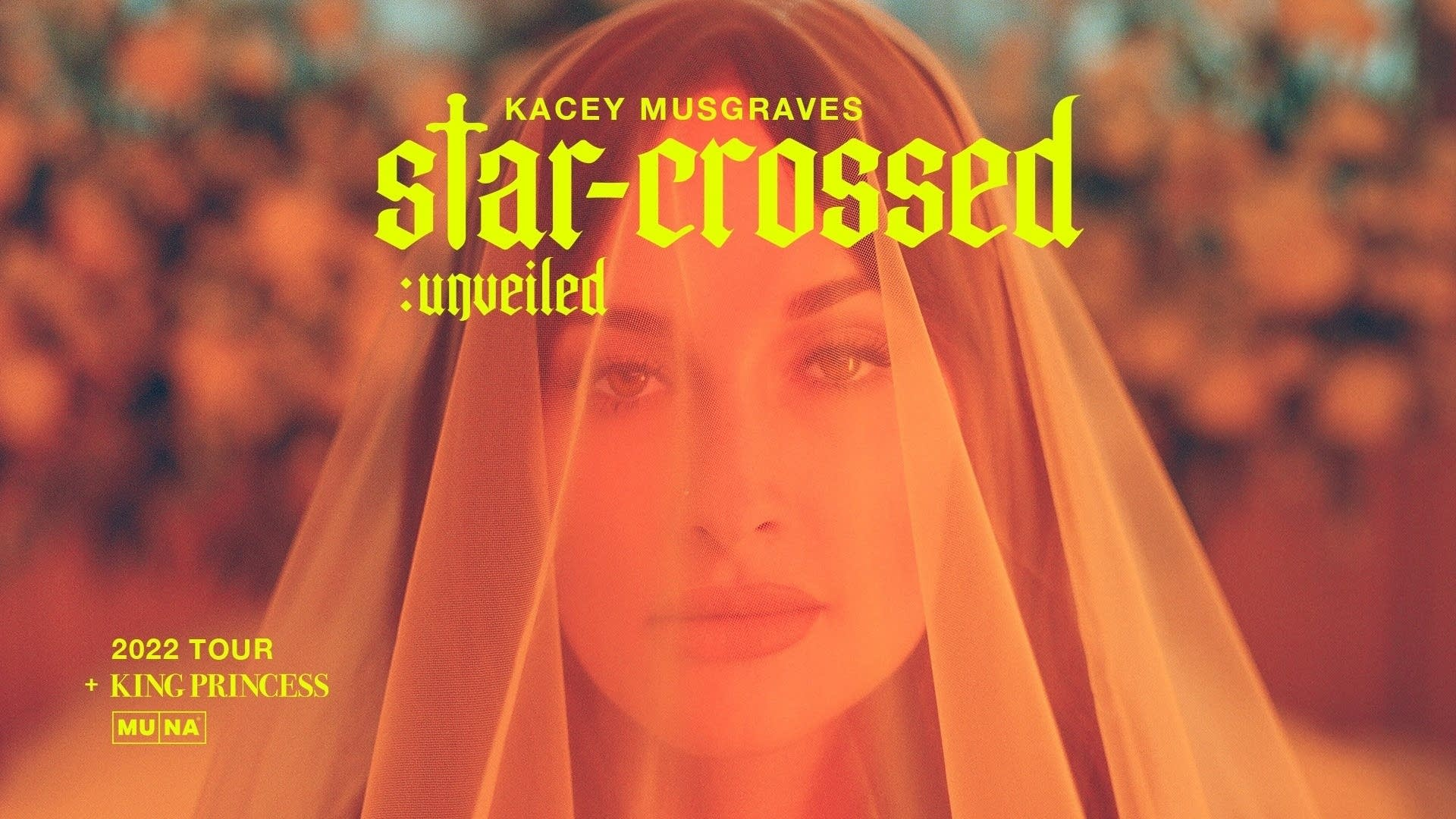 Kacey Musgraves - starcrossed unveiled tour poster