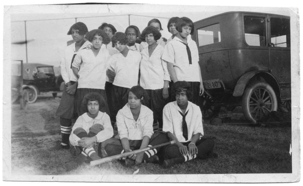 Wheatley House Girls softball team