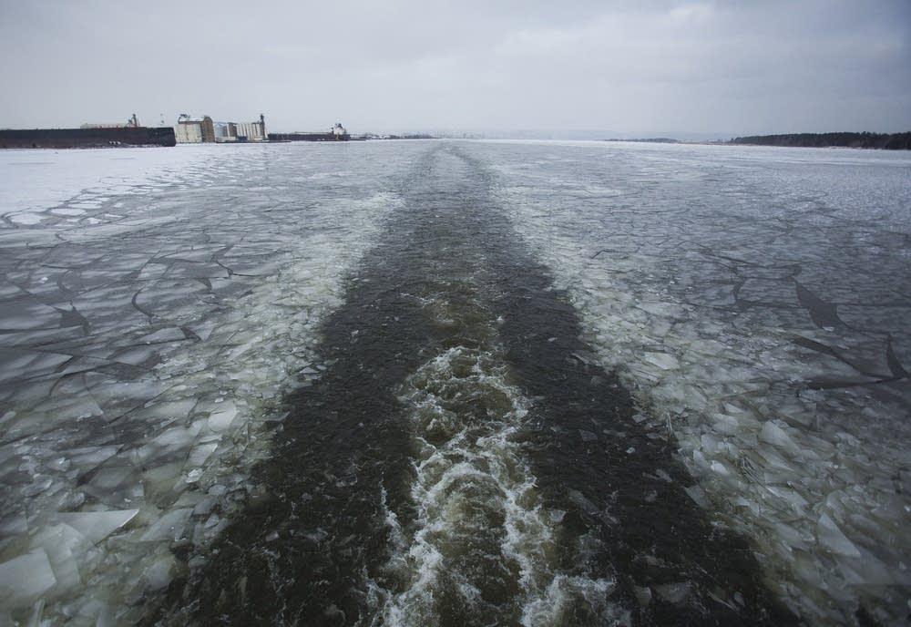Icebreaker path