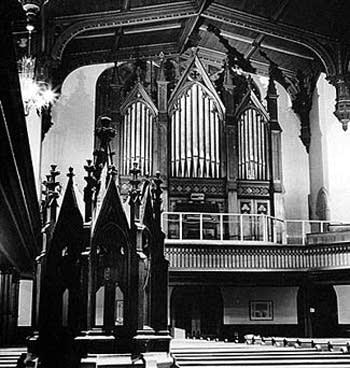 1876 Jardine organ     Saint Paul's Episcopal Church, New Haven,...