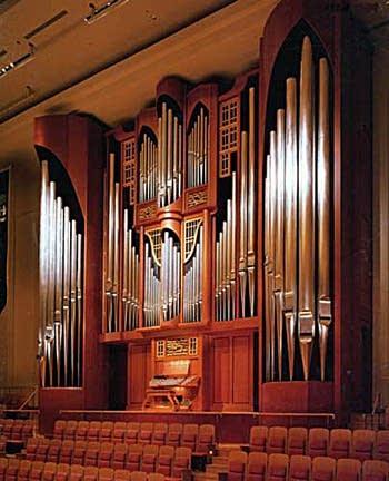 1997 Fisk organ at Minata Mirai Concert Hall, Yokohama, Japan
