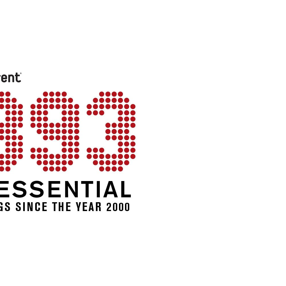893 Essential Songs since the year 2000