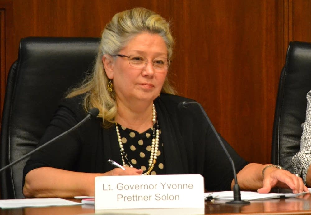 Lt. Gov. Yvonne Prettner Solon