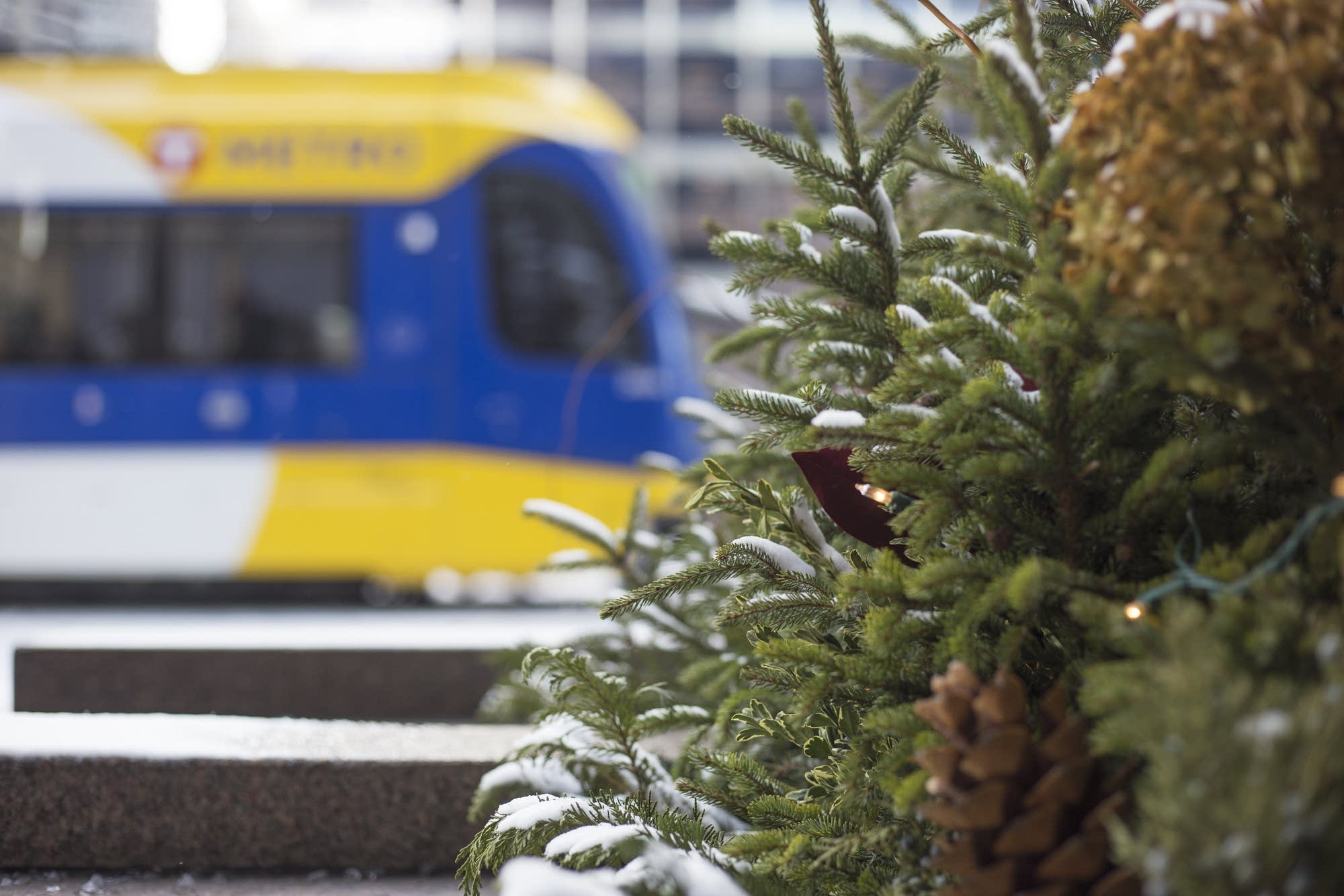 The green line is active through downtown Minneapolis on Tuesday, Dec. 5.