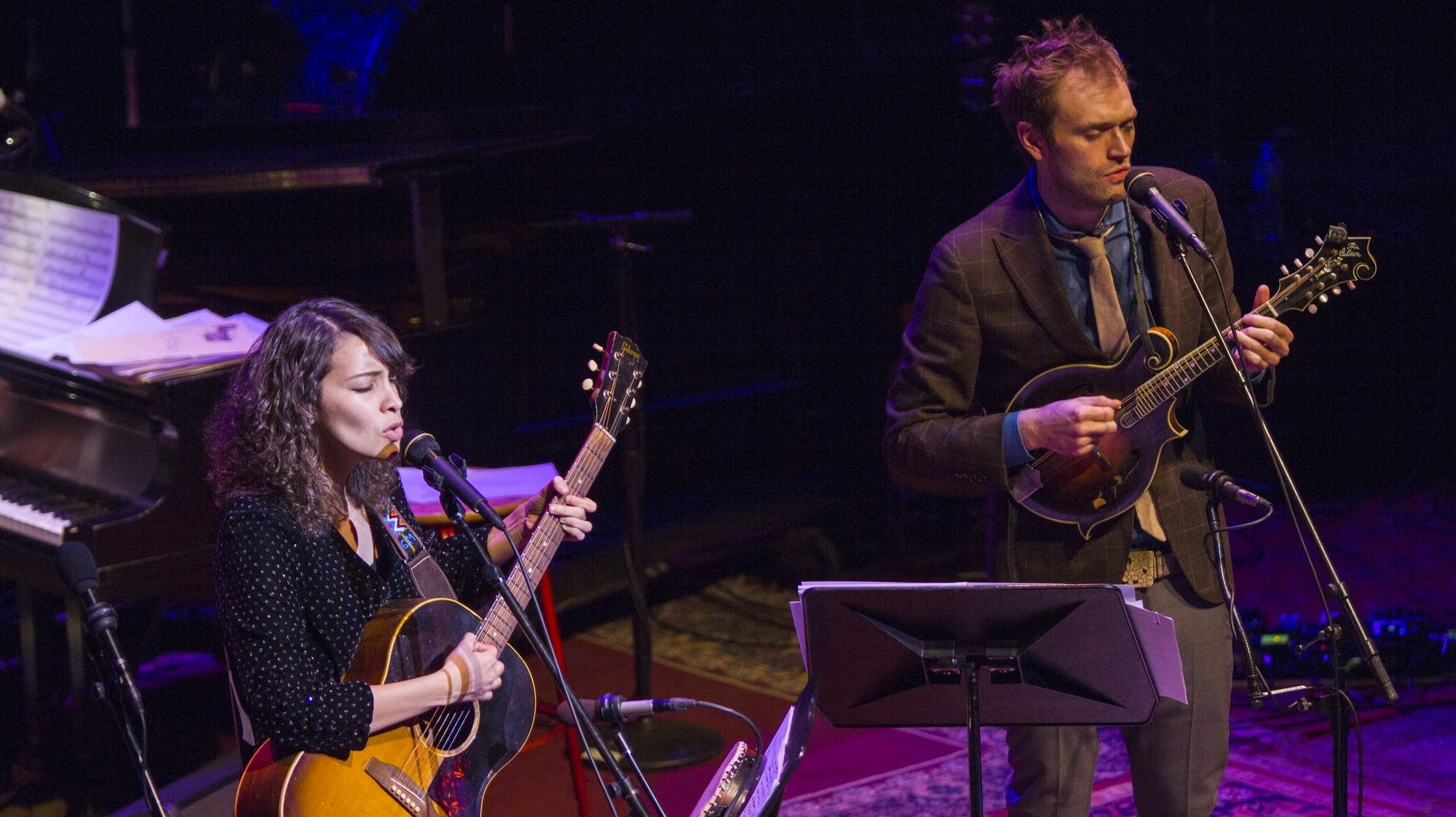 Gaby Moreno and Chris Thile