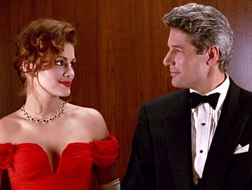 Julia Robert and Richard Gere in 'Pretty Woman.'