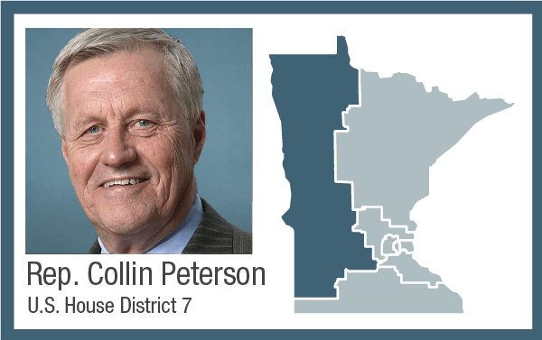 Rep. Collin Peterson, U.S. House District 7