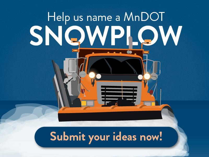 MNDOT snowplow names coming