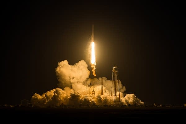 Orbital Sciences Antares Launch