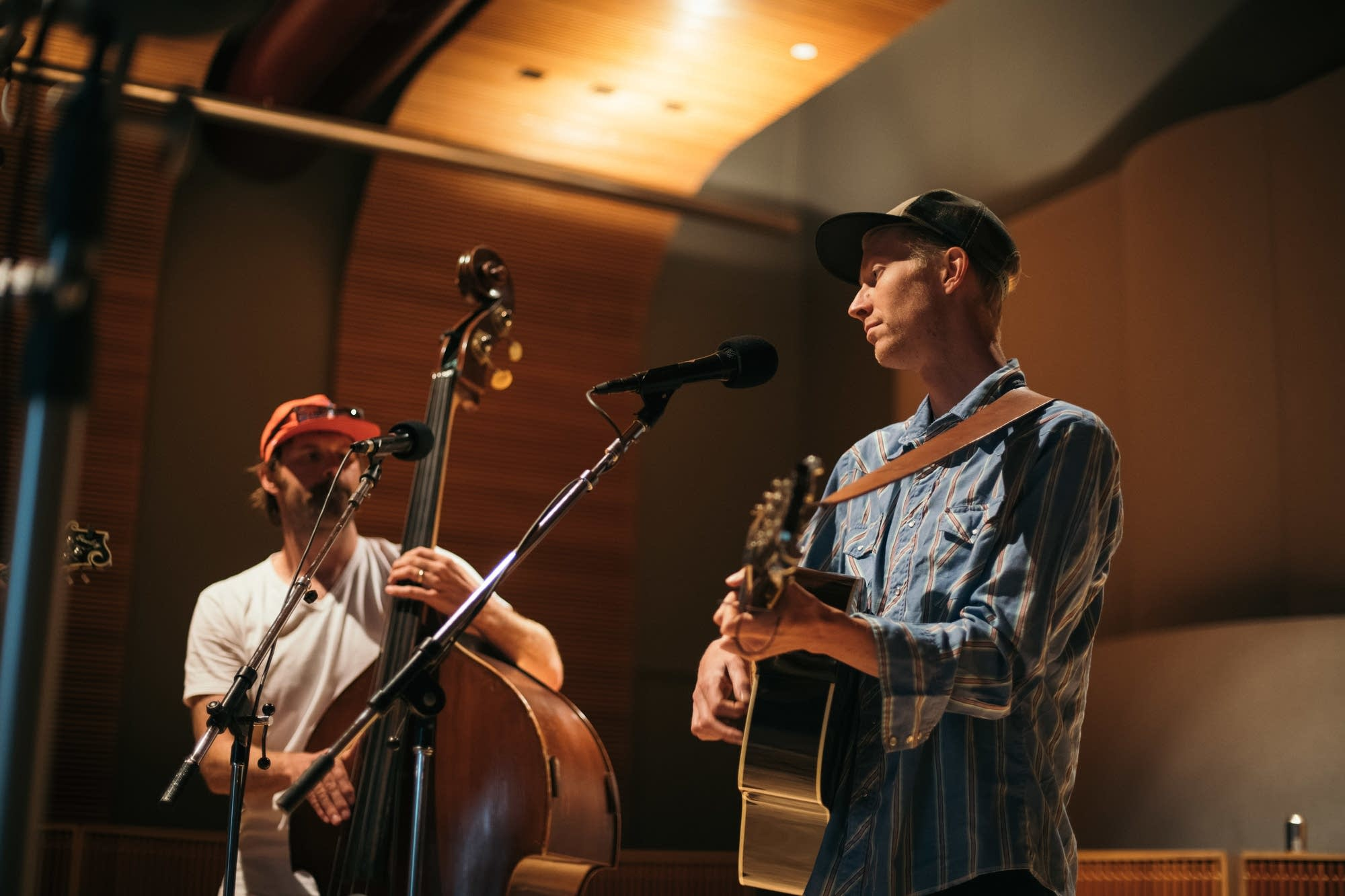 Trout Steak Revival perform in the Radio Heartland studio