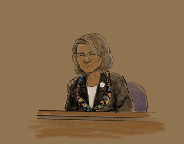 Patty Wetterling testifies in the lawsuit against Danny Heinrich