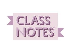 class notes vert