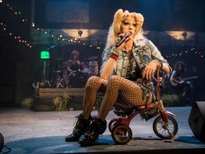 Tyler Michaels King is Hedwig in 'Hedwig and the Angry Inch'