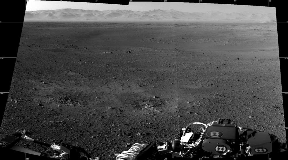 NASA's Curiosity Rover Captures Mars