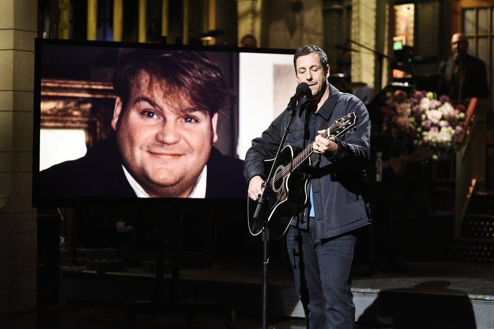Adam Sandler's musical tribute to Chris Farley on Saturday Night Live