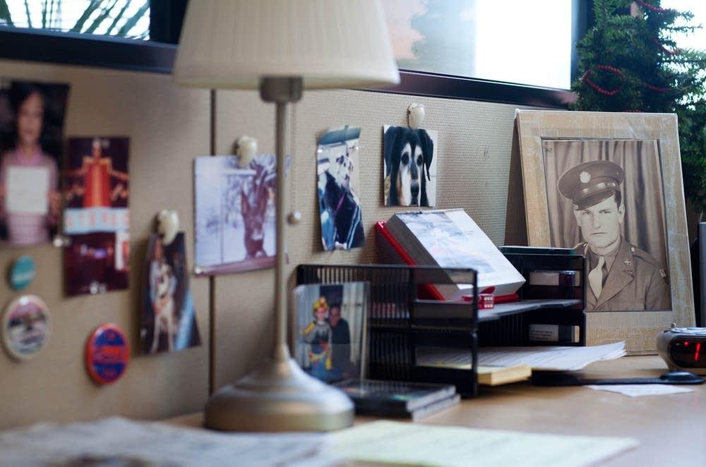 Gary Eichten's desk mementos