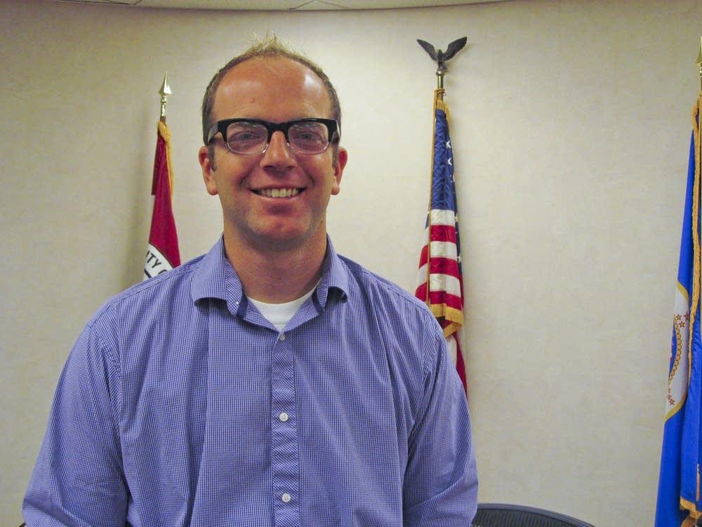 Shakopee Mayor Brad Tabke
