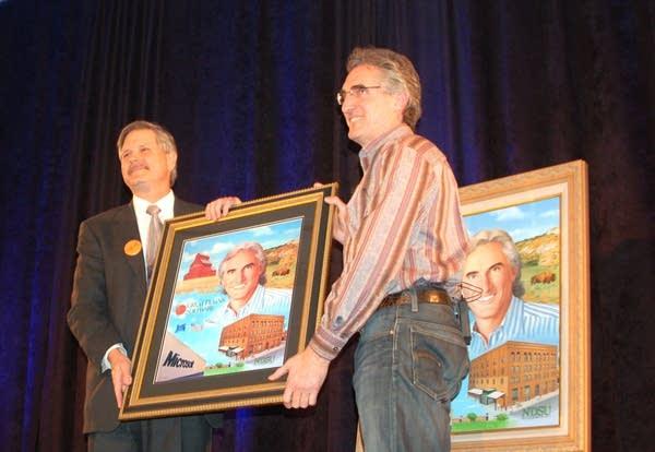 John Hoeven and Doug Burgum