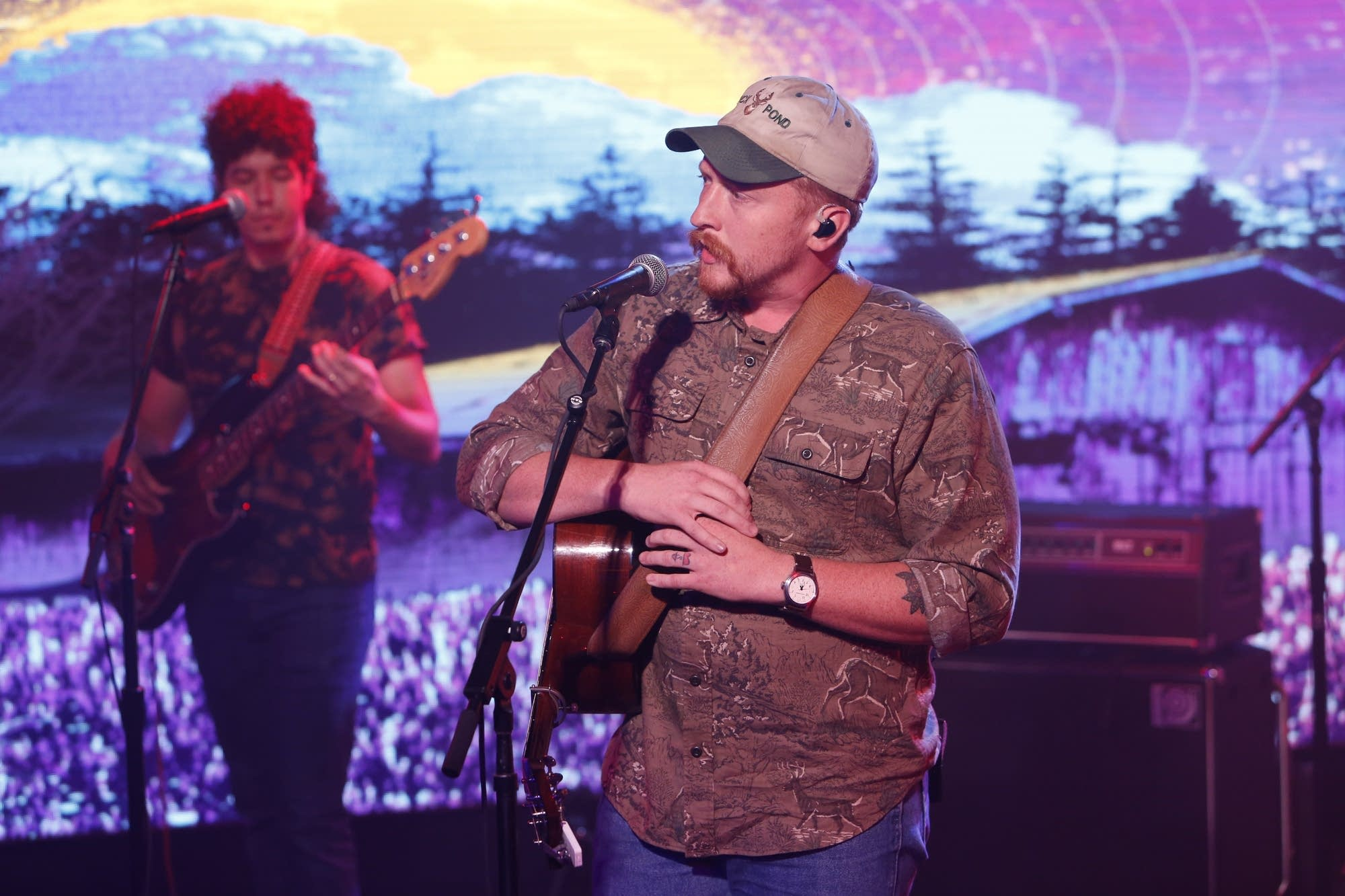 Tyler Childers performs on 'Jimmy Kimmel Live!'