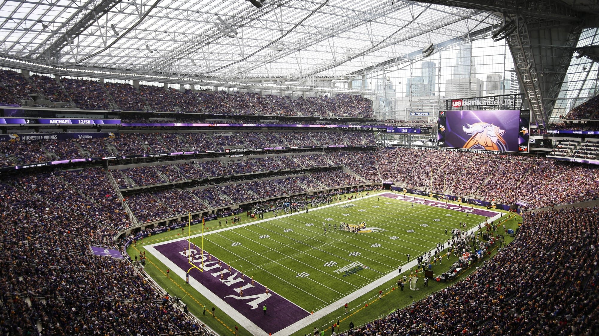 Bill To Eliminate Board That Runs U S Bank Stadium Moves