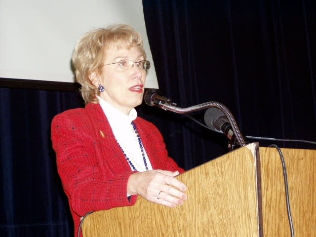 Education Commissioner Alice Seagren