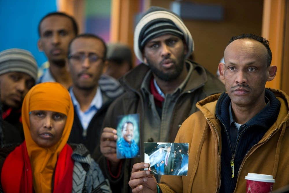 Members of the Somali community