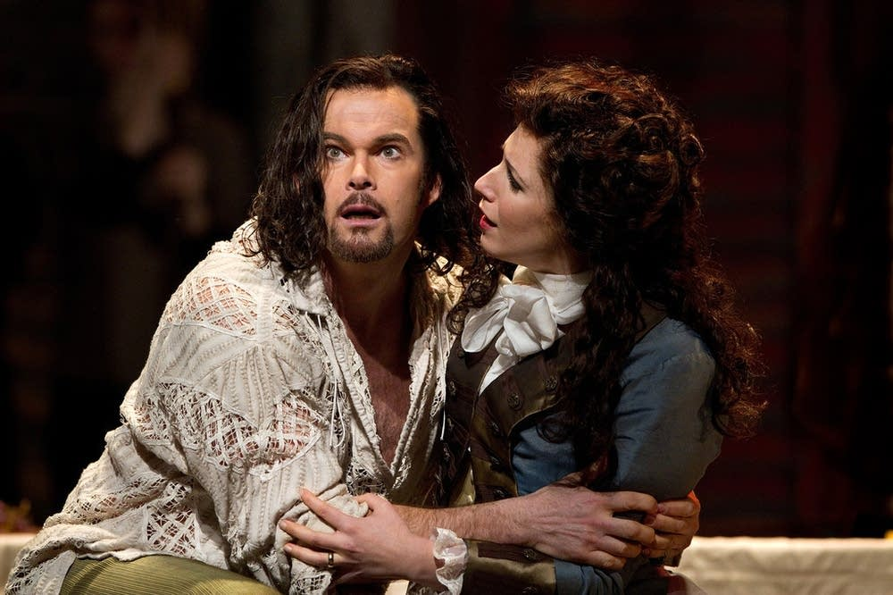 Gerald Finley as Giovanni and Dehn as Donna Elvira