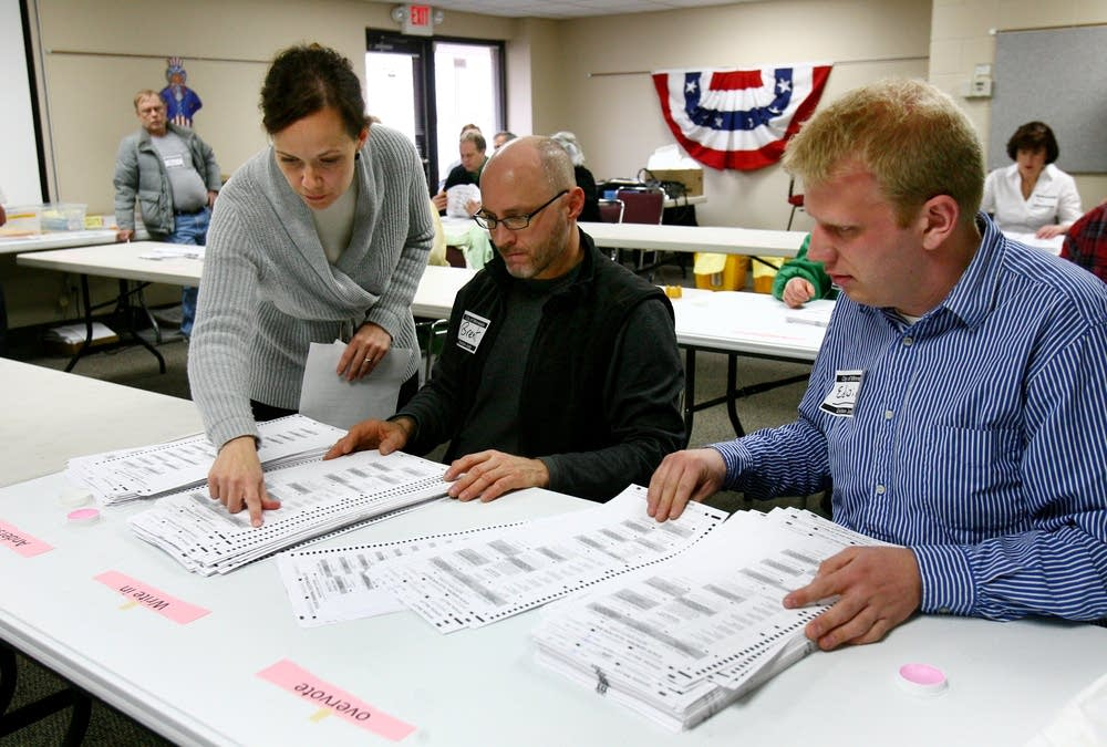 Inspecting ballots