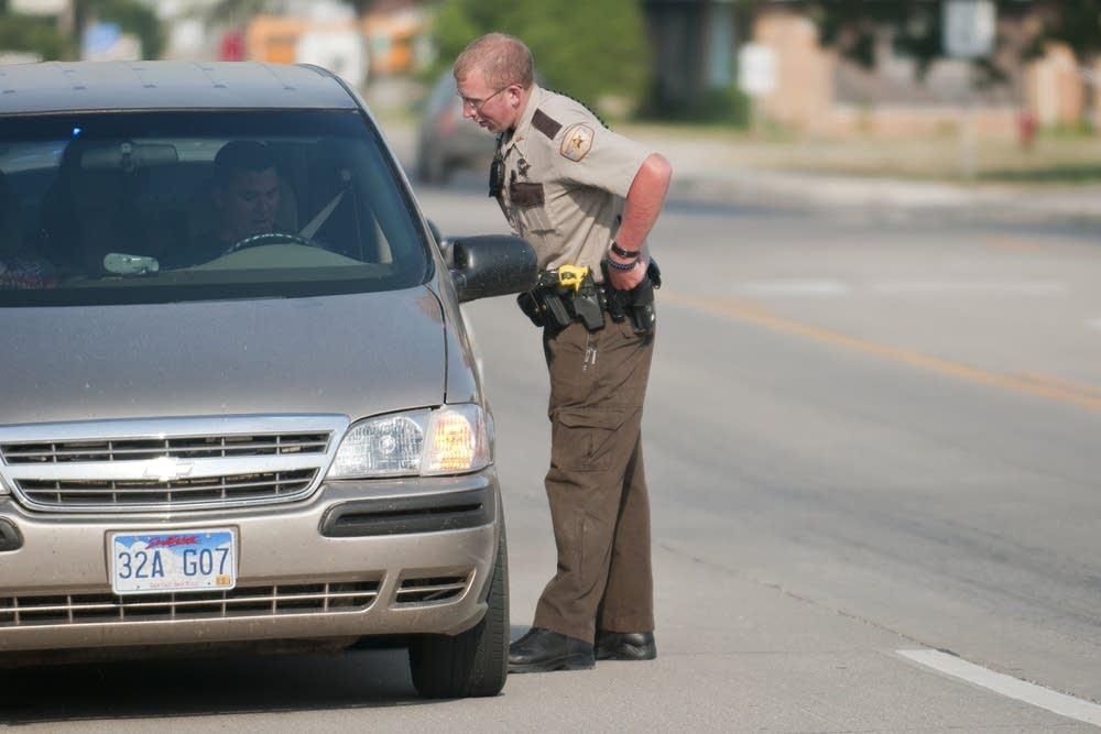 Deputy Nelson traffic stop