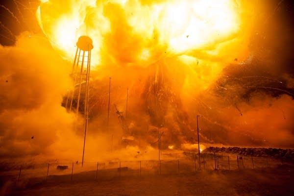 Orbital Sciences Antares explosion