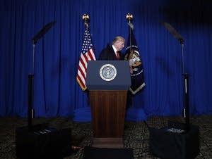 President Donald Trump in Mar-a-Lago