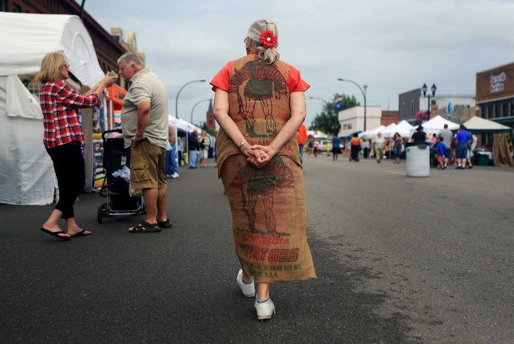 Potato sack dress