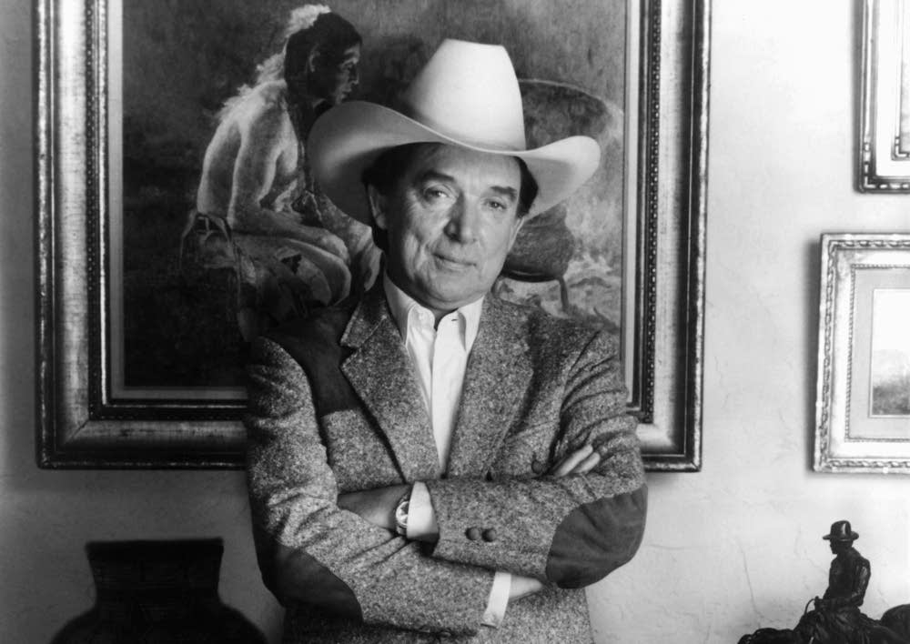 Country singer Ray Price in 1983