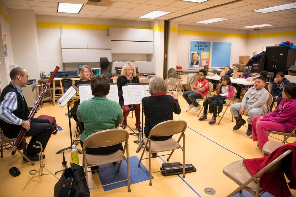 Dolce Wind Quintet master class
