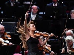 Nicola Benedetti at the Proms