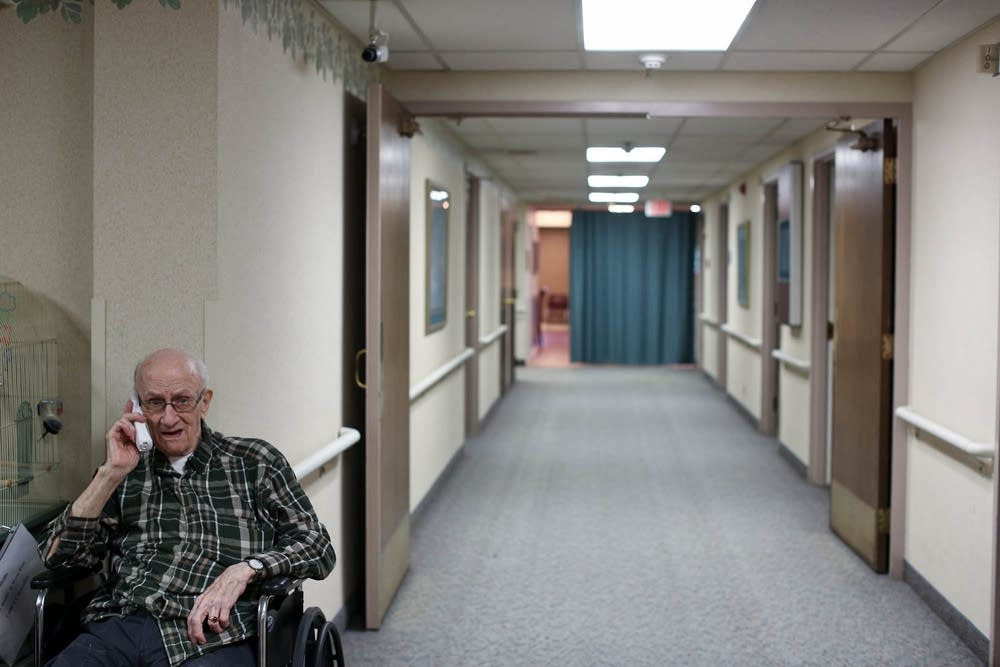 Nursing home shelter area