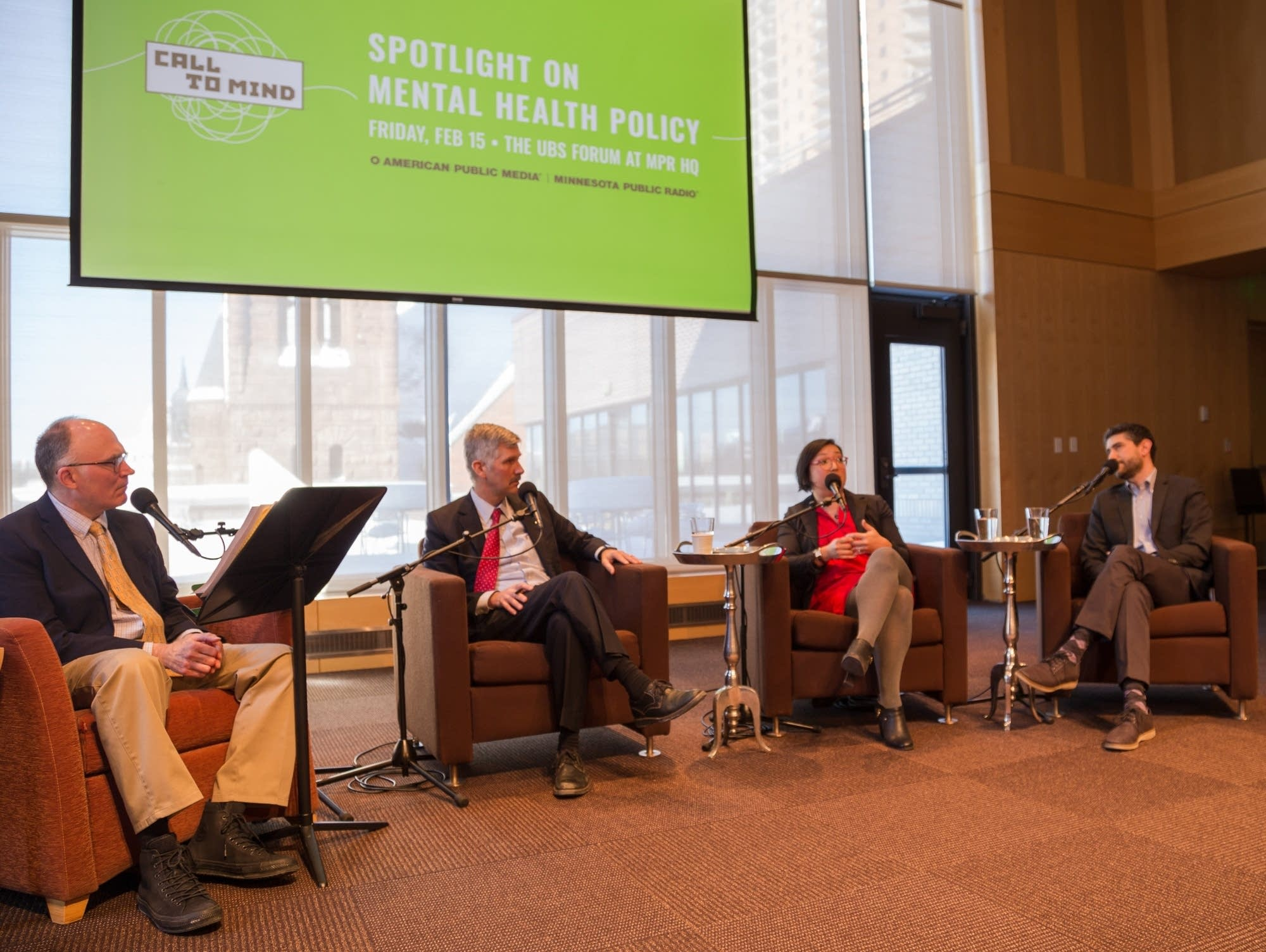 MPR News Political Editor Mike Mulcahy paneled a Call to Mind discussion.