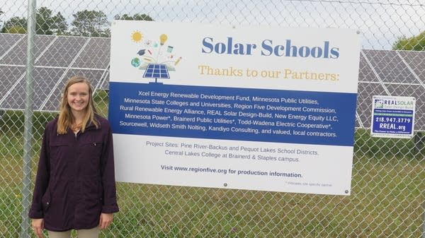 Erica Bjelland, of the Rural Renewable Energy Alliance